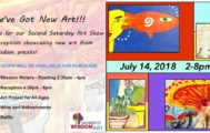 Second Saturday Show July 14th 2018